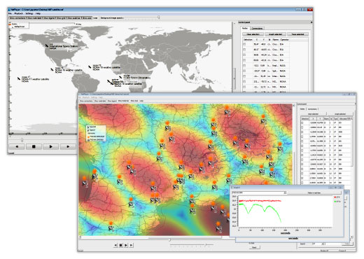 Use Cases Satellite Network Simulator 3